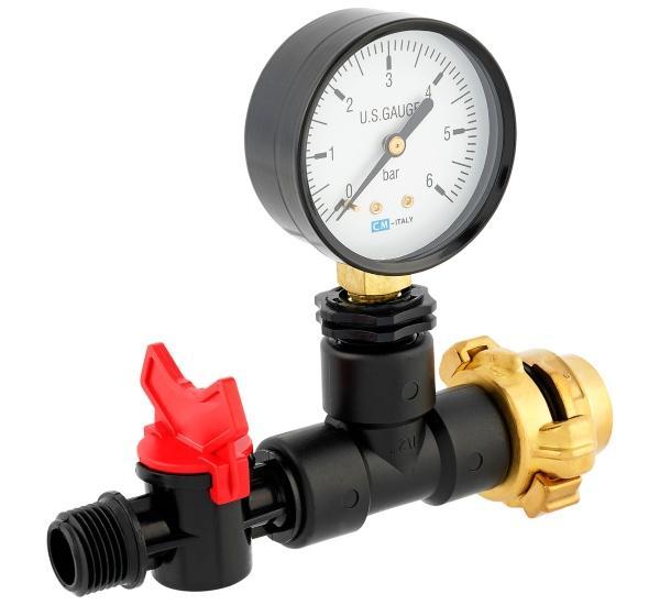 messgeraet-mit-manometer-fuer-wassermenge-druck-durchfluss