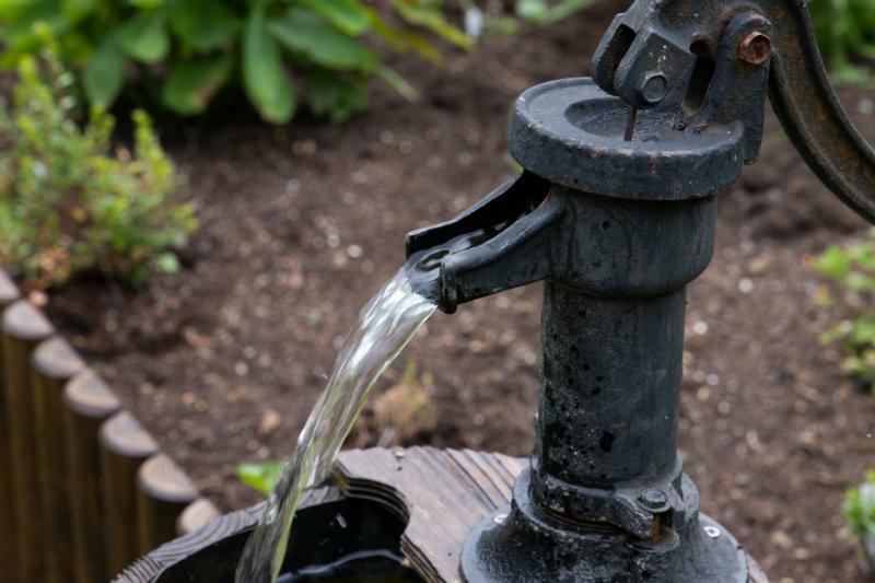 Brunnenwasser sollte aufbereitet werden