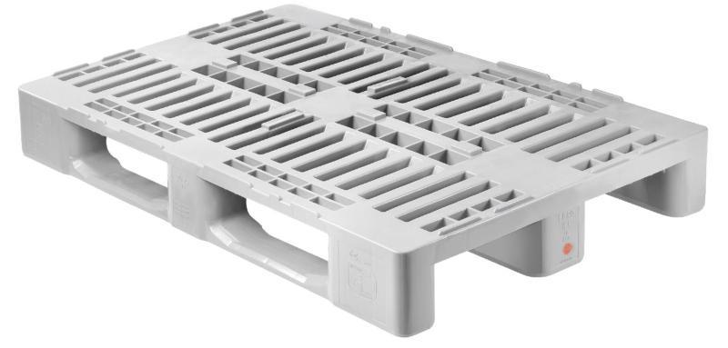 H1 Hygiene Europalette (mit Rand) 1200 x 800 mm