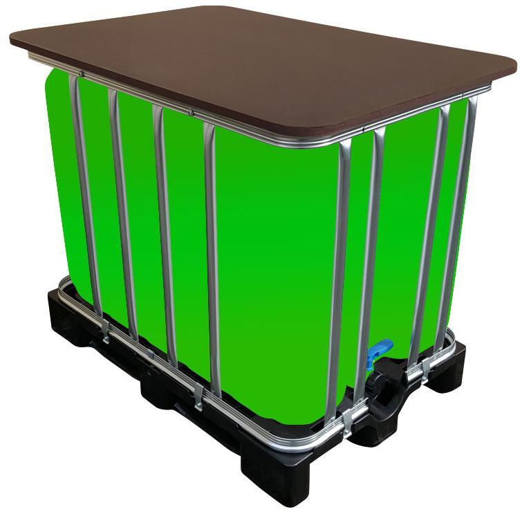 LED Kubik® Stehtisch