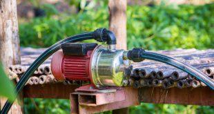 Wasserpumpe für die Gartenbewässerung