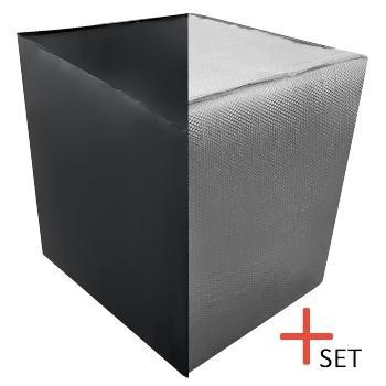 IBC Frostschutz + Set UV Schutz Cover ibc-heizmatte-heizmantel-isolierhaube-containerheizung