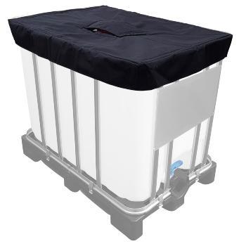 Isolierdeckel fuer 600l IBC Heizmantel ibc-heizmatte-heizmantel-isolierhaube-containerheizung