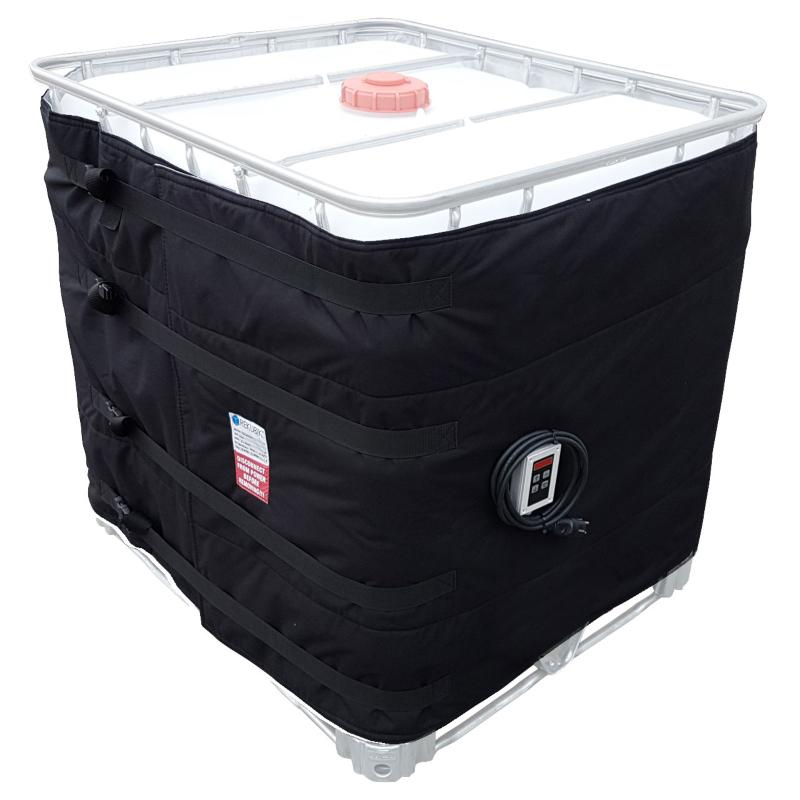 1000l IBC Heizmantel Thermostat - IBC Container bei Frost