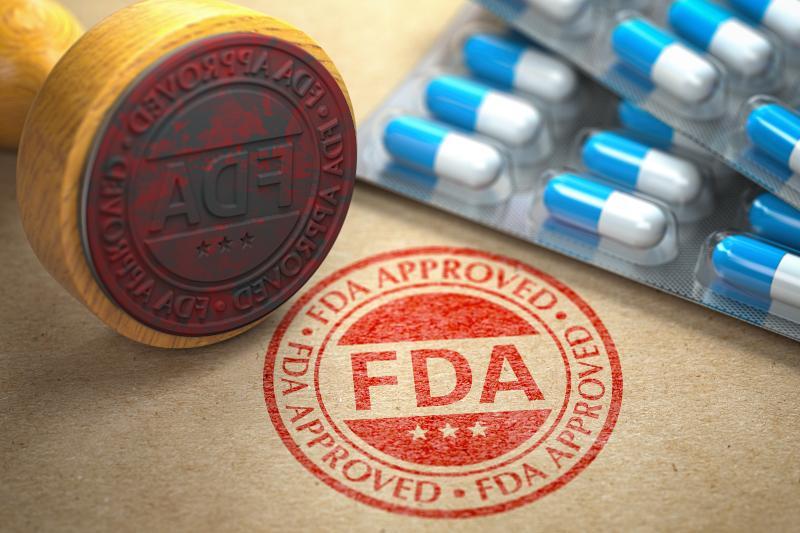 FDA Zulassungsstempel
