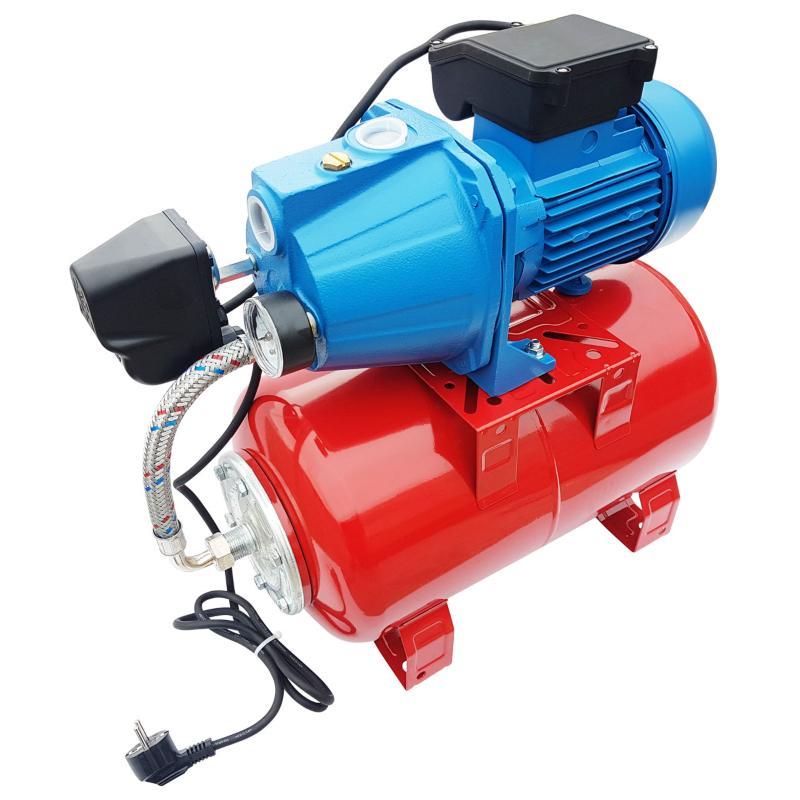 Hauswasserwerk Guss-Gartenpumpe (230V)