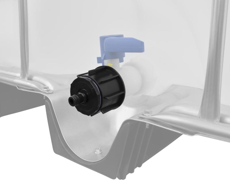 "IBC Adapter S60x6 - Steckkupplung ""GARDENA"" kompatibel"