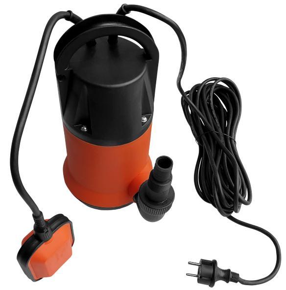 Tauchpumpe Schmutzwasser mit Schwimmer (230V) - Zisternenpumpe
