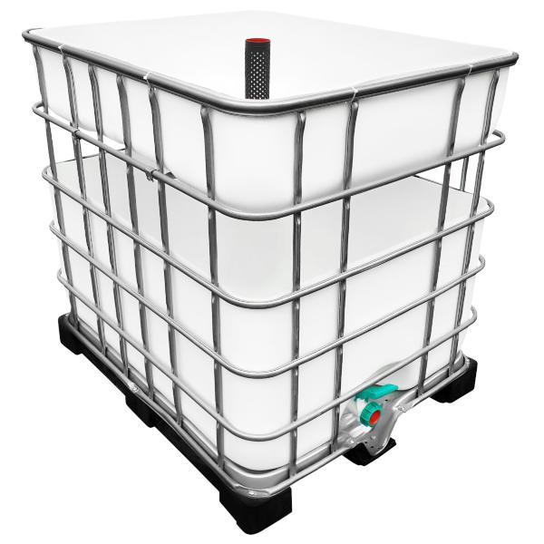 600/200l IBC Hochbeet Urban Farming Speicher - Kräuterbeet anlegen leicht gemacht