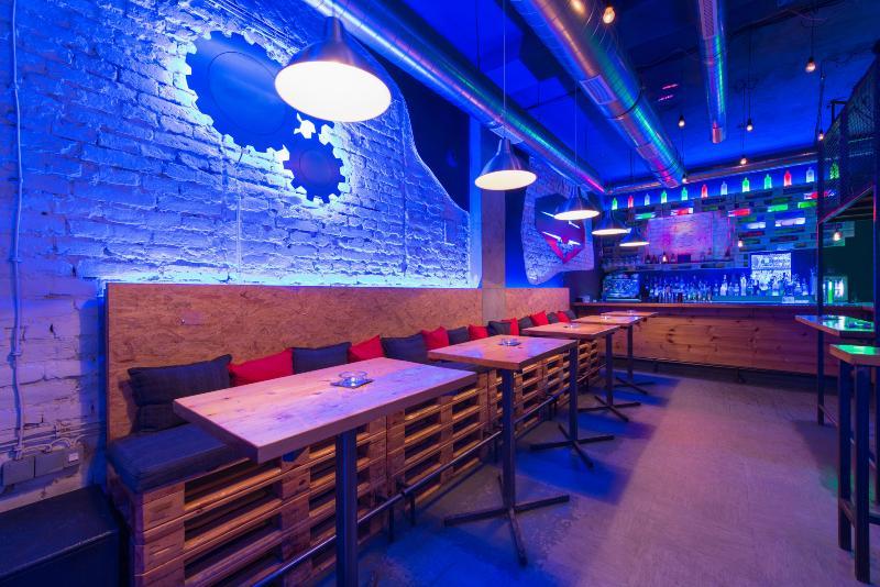 Bar im industrial Style