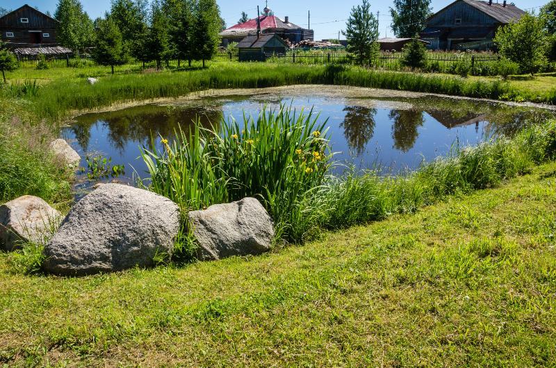 Künstlicher Teich