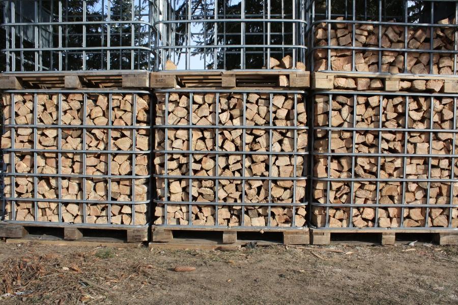 ibc-gitter-brennholzlagerung