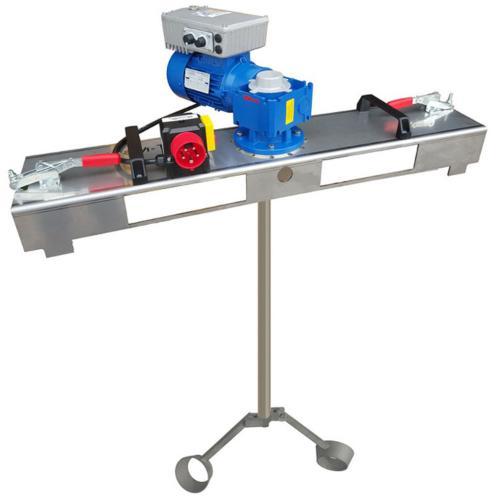 IBC Rührwerk mit Schneckengetriebe mit E-Antrieb 3000 m/Pas.