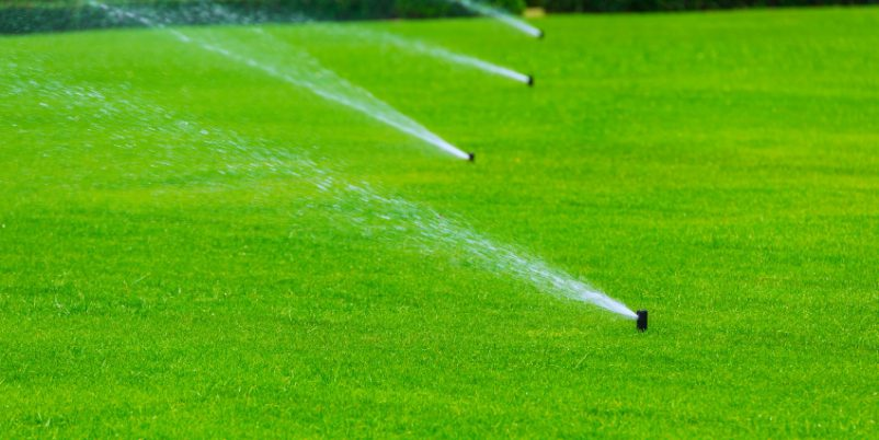 Rasneprenkler - Rain Bird Regner einstellen
