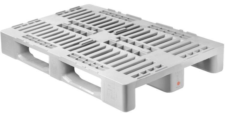 H1 Hygiene Europalette (mit Rand) 1200 x 800 mm - IBC-Palette