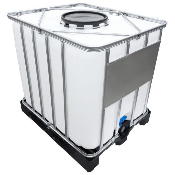 1000l IBC Container (Mannloch DN 400) auf PE-Palette NEU