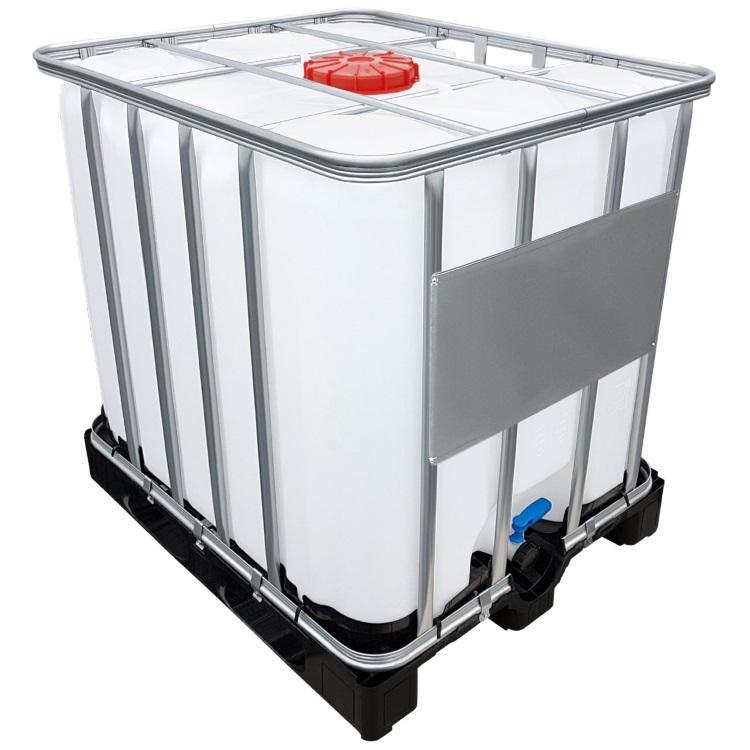 1000l IBC Container UN-Zulassung auf PE-Palette NEU Containerpaletten aus Kunststoff