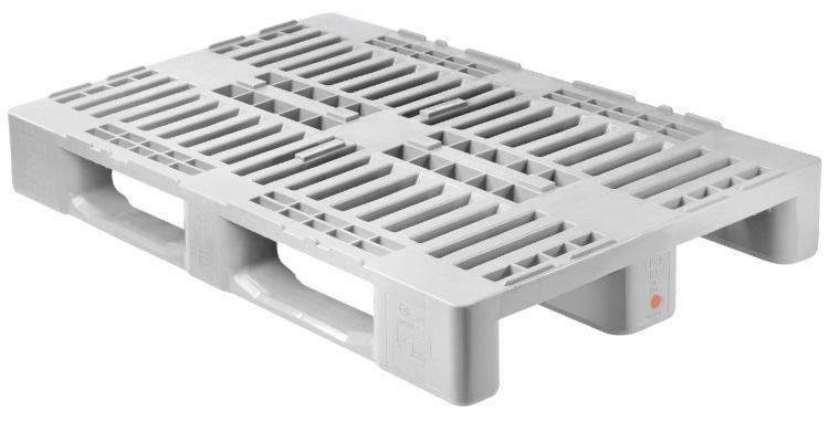 H1 Hygiene Europalette (mit Rand) 1200 x 800 mm Containerpaletten aus Kunststoff