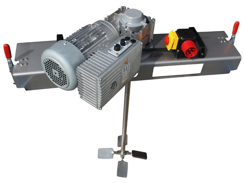 IBC Schneckengetrieberührwerk mit E-Antrieb 5000 m/Pas.