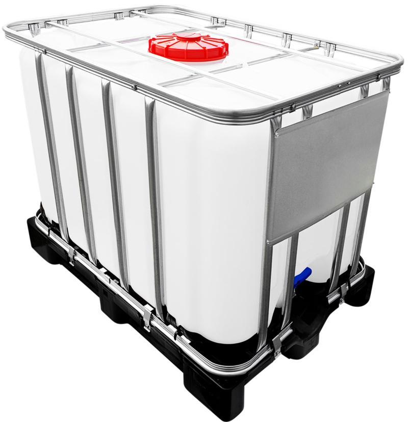 600l IBC Container UN-Zulassung auf PE-Palette NEU Effektive Tankrührwerke