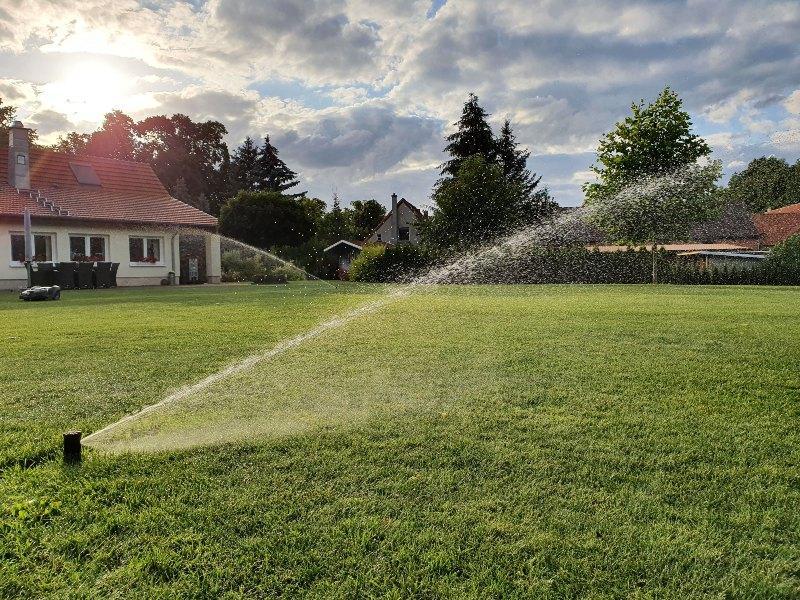 Bewässerung mit Bewässerungsuhr