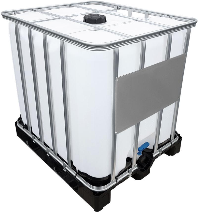 1000l IBC Container auf PE-Palette NEU 2000 Liter