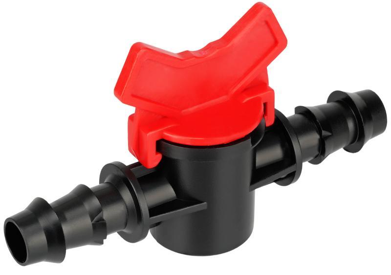 Kunststoff Mini Klappenhahn Steckverbindung Verlegerohre für die Gartenbewässerung