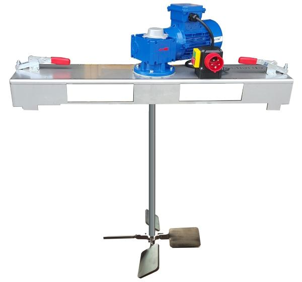 IBC Schneckengetrieberührwerk mit E-Antrieb 2000 m/Pas.