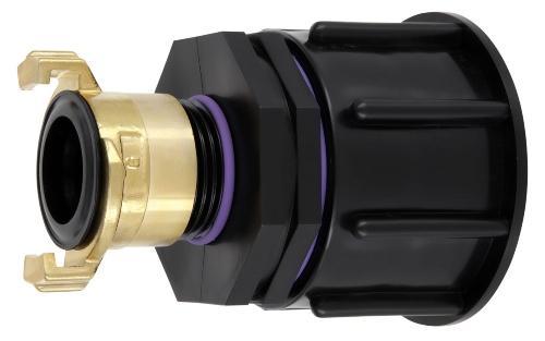 """IBC Adapter S60x6 - Schnellkupplung """"GeKa"""" kompatibel"""