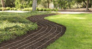 Unterflurbewässerung des Rasens