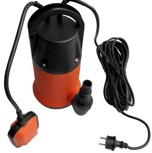 Tauchpumpe Schmutzwasser mit Schwimmer (230V)