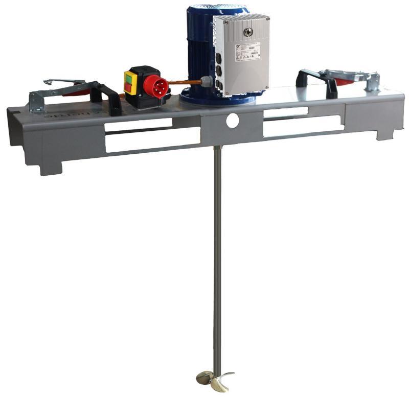 IBC Rührwerk Schnellmischer mit E-Antrieb VARIO 600 m/Pas.
