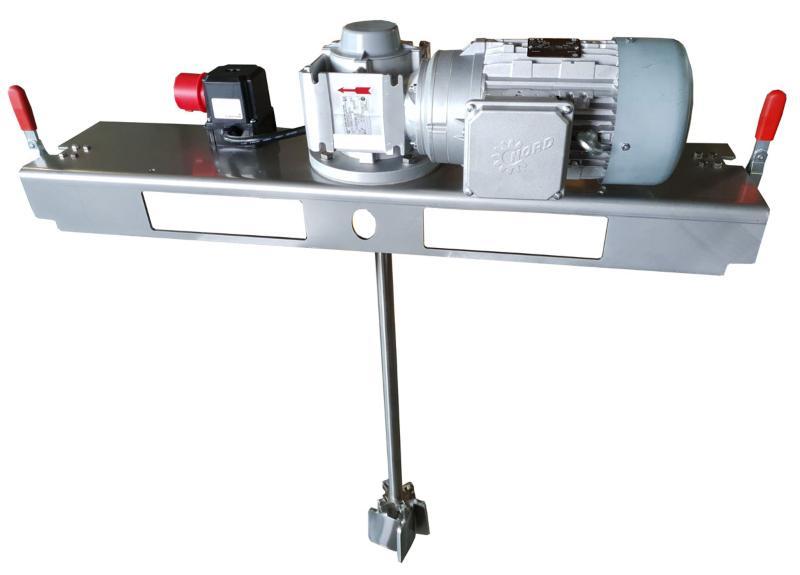 IBC Stirnradgetrieberührwerk mit E-Antrieb 5000 m/Pas. Effektive Tankrührwerke