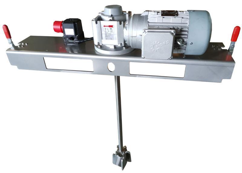IBC Stirnradgetrieberührwerk mit E-Antrieb 5000 m/Pas.