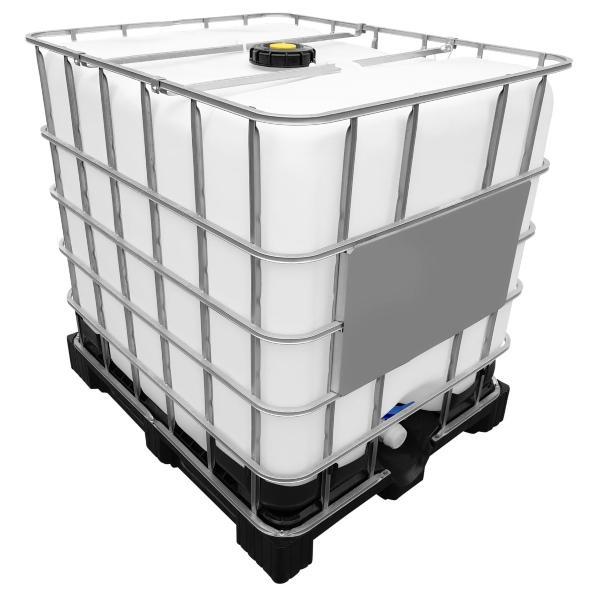 1000l IBC Wassertank auf Kunststoffpalette | gespült
