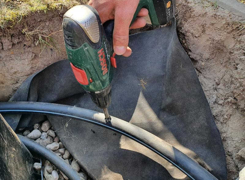 25mm (50m) PE-Druckrohr PN6 für Bewässerung
