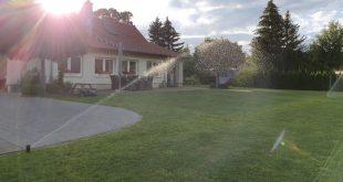 Rasensprenger - Bewässerungsplanung ist wichtig