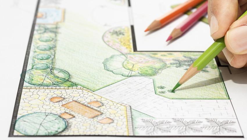 Gartenplan - Bewässerungsplanung