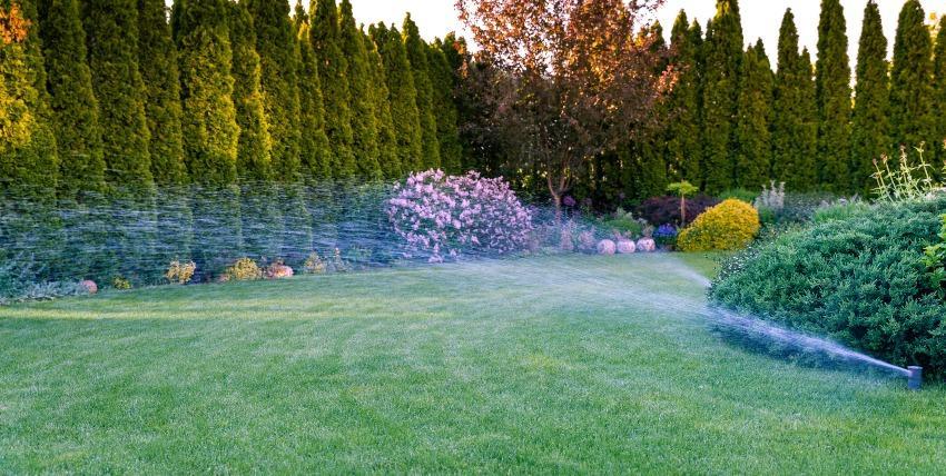 Rasensprenkler für großen Rasen - Gartenberegnungsanlagen