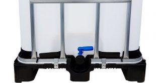 IBC Container mit Auslaufstutzen