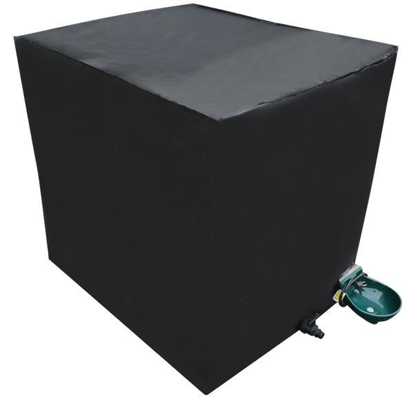 1000l IBC Container Frostschutz (-25°C) mit Tränkebecken NEU