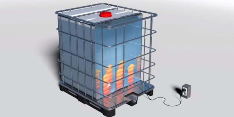 Heizmatte für IBC COntainer - Effektive Containerheizer