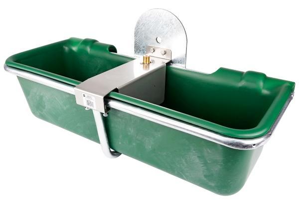 """32 Liter Weidefass Anbautränke 1/2"""" AG mit Niederdruck Schwimmerventil"""