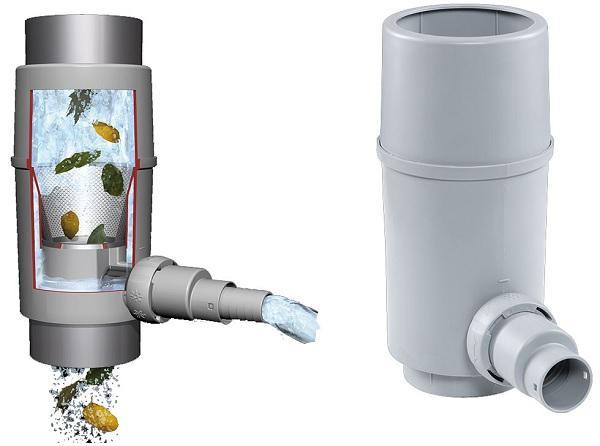 Regendieb Pro für DN 70-100 Fallrohr bis 200m² Dachfläche - Fallrohrautomat
