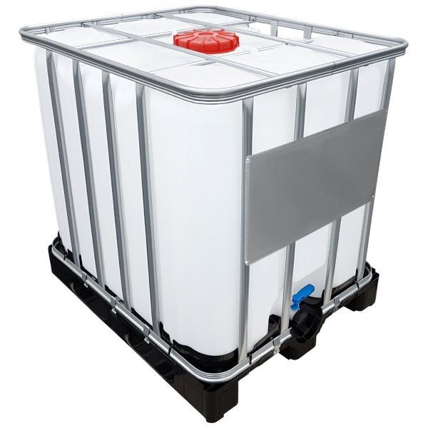 1000l IBC Container UN-Zulassung auf PE-Palette NEU | Geeignet für die Beförderung bzw. den Transport von Gefahrgut