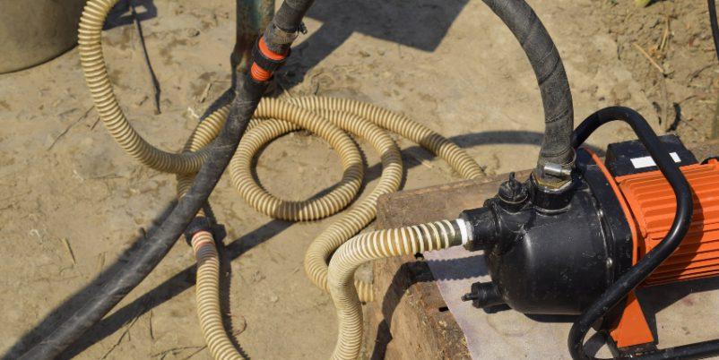 Gartenpumpe - mit Rückschlagventil Pumpe schützen