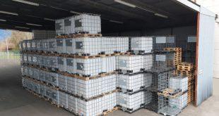 Große Anzahl 800 Liter IBC