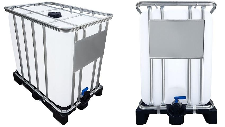 800 Liter IBC Container UN-Zulassung auf PE-Palette NEU