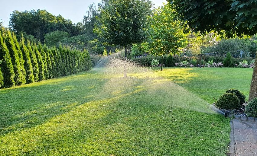 Rain Bird Sprühkopfsprinkler PopUp 1804 - Versenkbare Gartenbewässerung