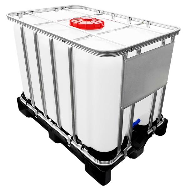 600l IBC Container UN-Zulassung auf PE-Palette NEU - Bewässerung ohne Strom